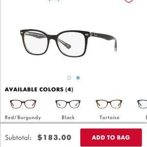 Rayban eyeglass RX5285
